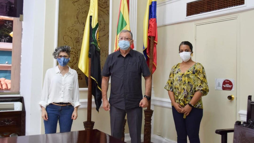 Convenio entre IPCC y UDC para fortalecer patrimonio cultural en Cartagena
