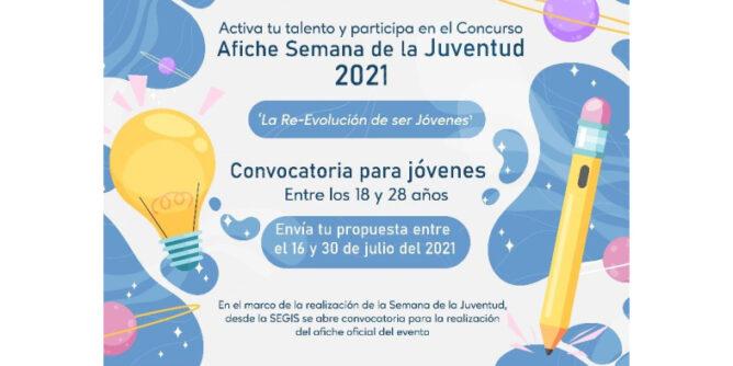 Convocatoria para creación del afiche oficial de la Semana de la Juventud