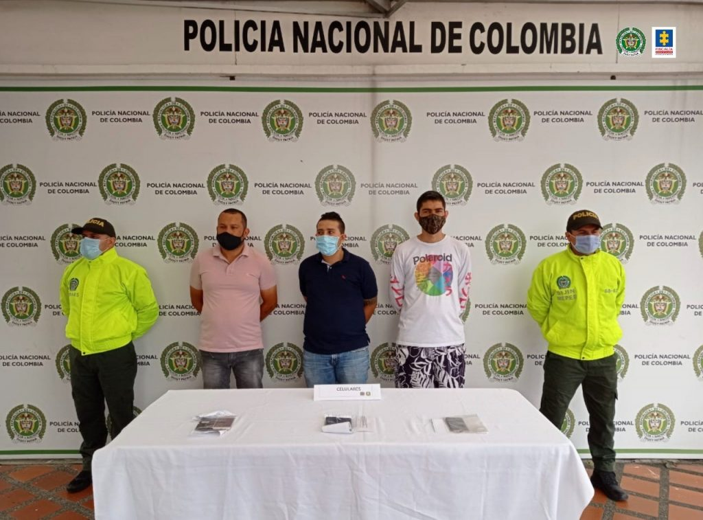 Desarticulada la organización delincuencial La 18, presuntamente, dedicada a la venta de estupefacientes en Pereira