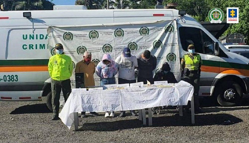 Desarticulado el GDCO los Mecanógrafos dedicado, al parecer, a producir y comercializar documentos falsos en Risaralda, Quindío y Valle