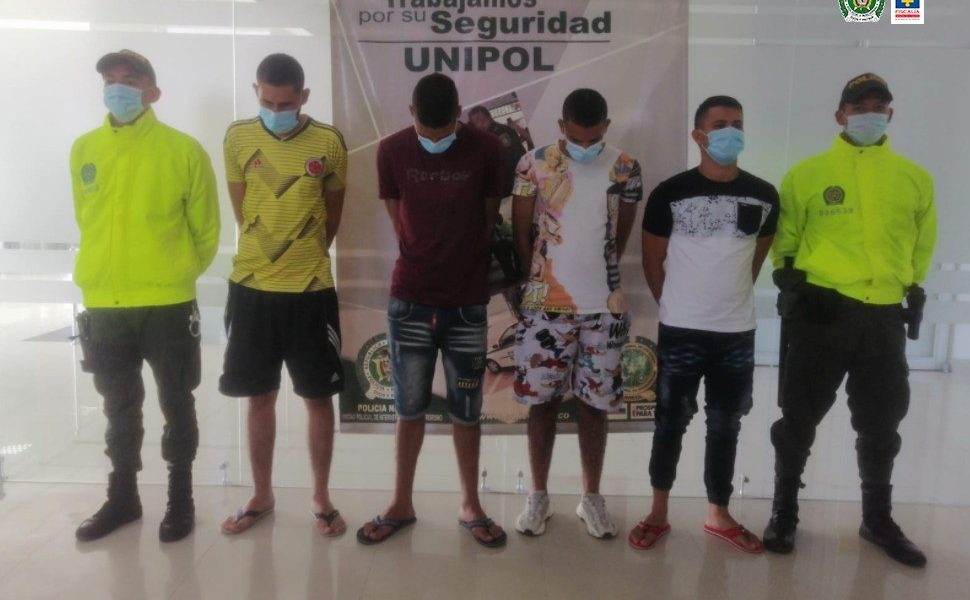 Desarticulado grupo delincuencial Los Lisos, dedicado al hurto en la Comuna 6 de Cúcuta (Norte de Santander)
