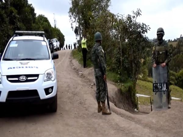 Tensión en frontera de Nariño por enfrentamientos de grupos ilegales