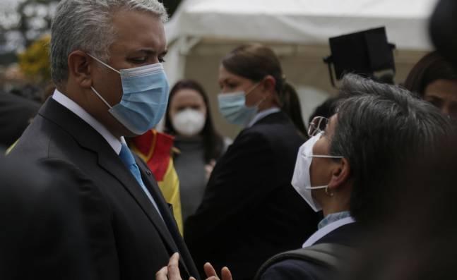 El nuevo choque entre Iván Duque y Claudia López por el informe de la CIDH