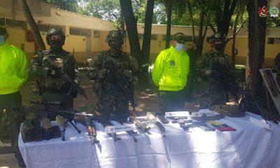 En Norte de Santander fue incautado material de guerra al parecer de propiedad de grupo armado organizado residual E-33