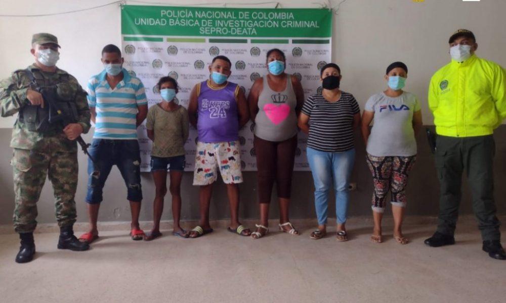 Fiscalía desarticuló a 'Los del Bronx', estructura dedicada al tráfico de estupefacientes en Manatí y Campo de la Cruz (Atlántico)