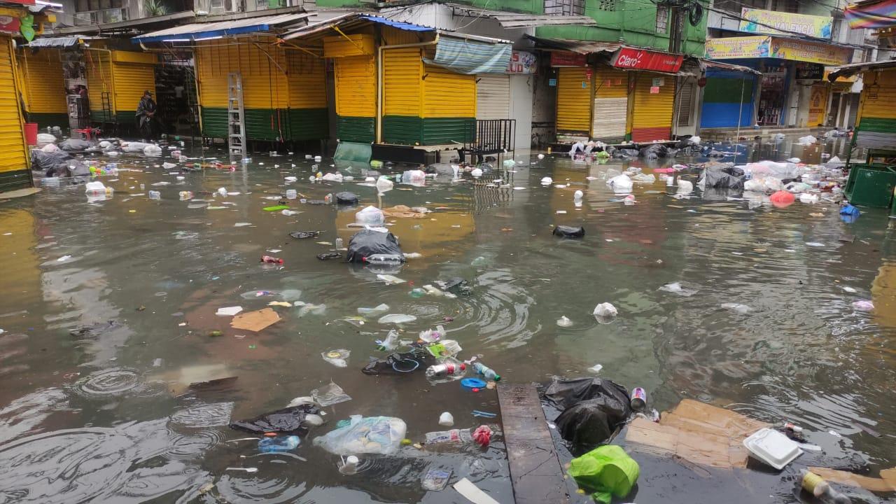 Fuerte lluvia causa inundaciones y caos viales en diferentes vías de Buenaventura – Noticias Al Punto Buenaventura