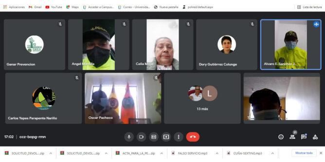 Gaula Nariño dicta capacitaciones virtuales