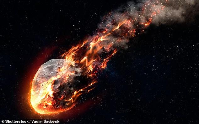 Una serie de asteroides del tamaño de una ciudad (como en la ilustración) bombardearon la Tierra primitiva hace entre 2.500 y 3.500 millones de años, golpeando con una frecuencia de un impacto cada 15 millones de años.