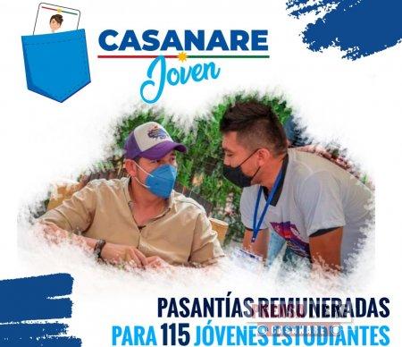 Gobernación de Casanare lanza hoy la estrategia Casanare Joven