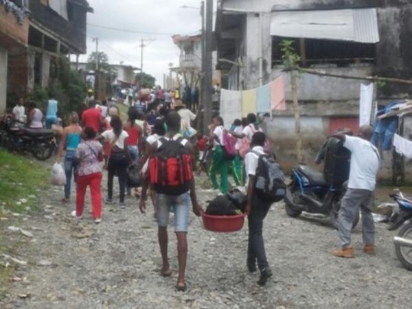 Gravedad extrema en Nariño: Ya hay más de 2.200 familias desplazadas por combates