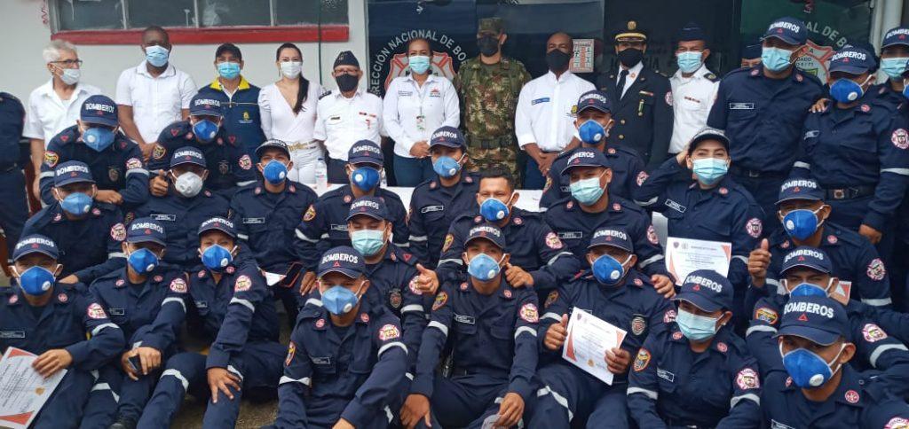 Hace 50 años: Así nació el cuerpo de bomberos de Inírida