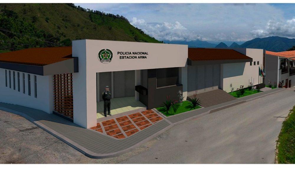 Iniciaron las obras de construcción de un Subestación de Policía Aguadas