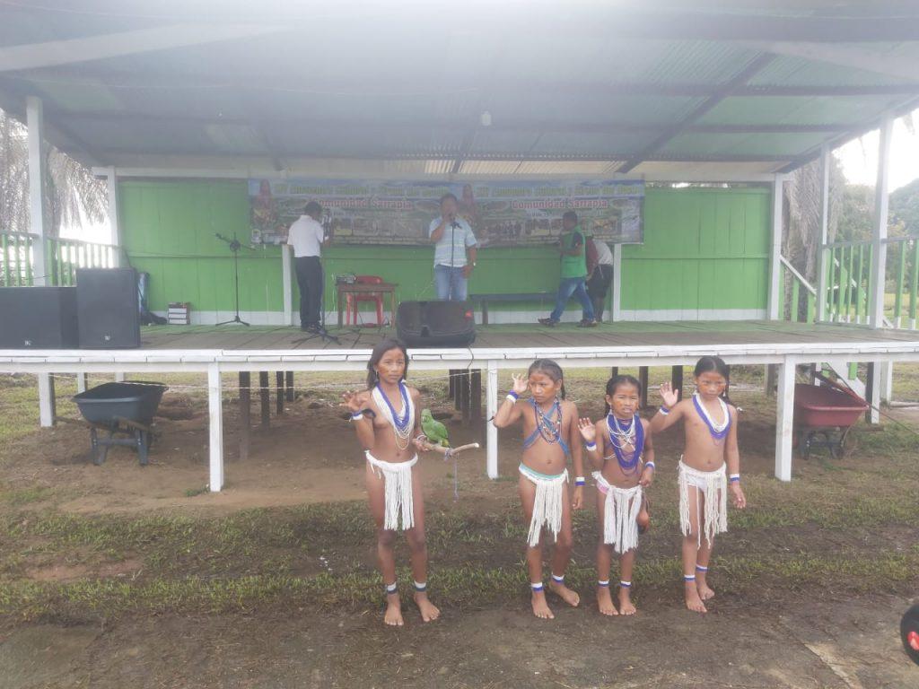 Inició en Sarrapia el 'Encuentro cultural y Sirena del Bocón'