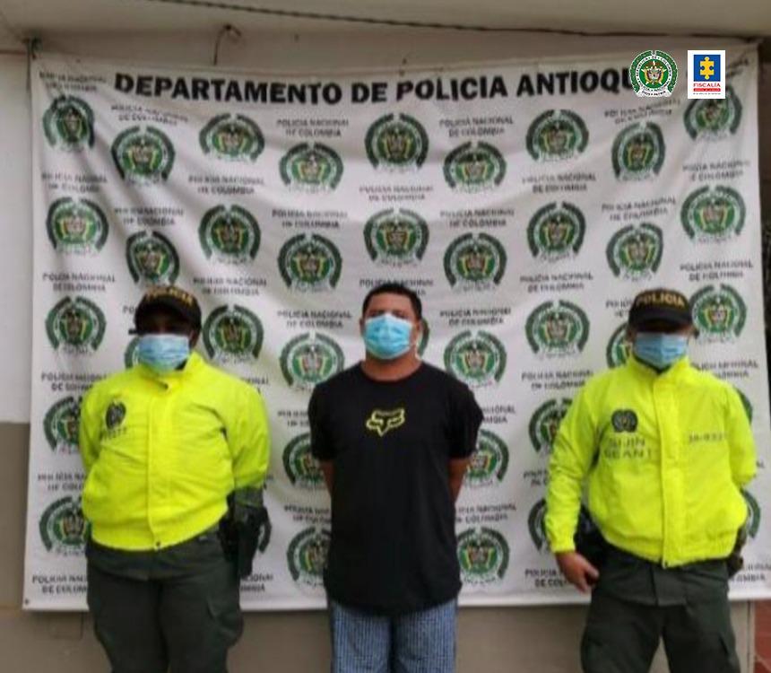 Judicializado alias Felipe, presunto sicario del 'Clan del Golfo' en Antioquia