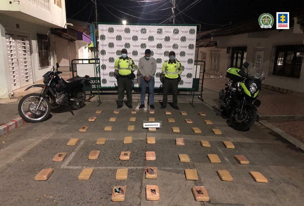 Judicializados 3 presuntos responsables de transportar estupefacientes en el norte del Valle del Cauca