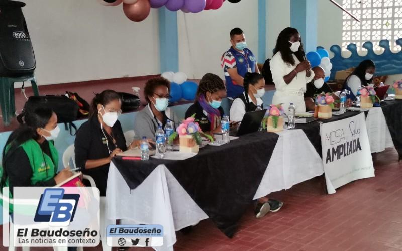 La Gobernación del Chocó, a través de la Secretaría de Salud Departamental realiza mesa de salud ampliada en el Municipio de San José del Palmar.