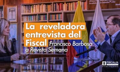 La reveladora entrevista del Fiscal Francisco Barbosa a Revista Semana - Noticias de Colombia