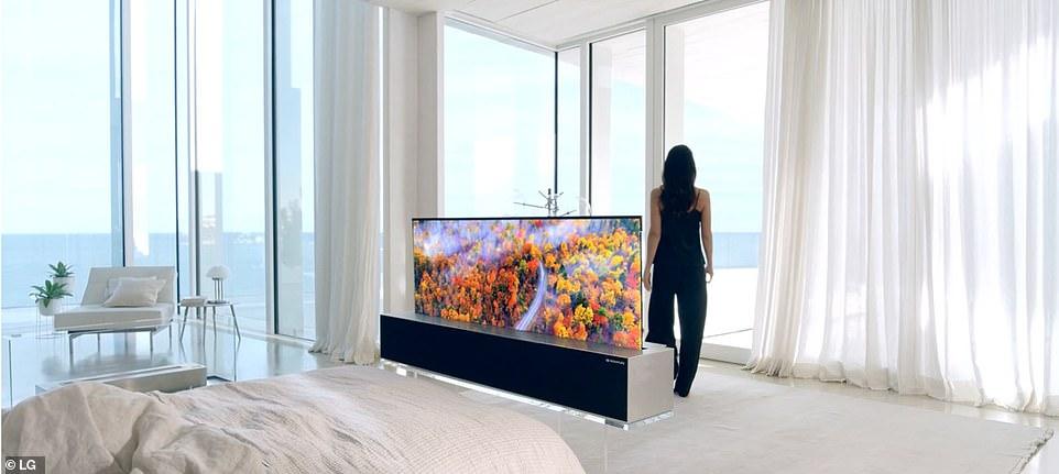 LG venderá su televisor enrollable LG Signature OLED R de 65 pulgadas 4K en los EE. UU. A partir de agosto