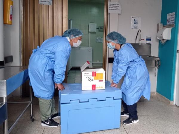Vacunas Moderna ya llegaron a Pasto y se aplicarán a mayores de 30 años de edad