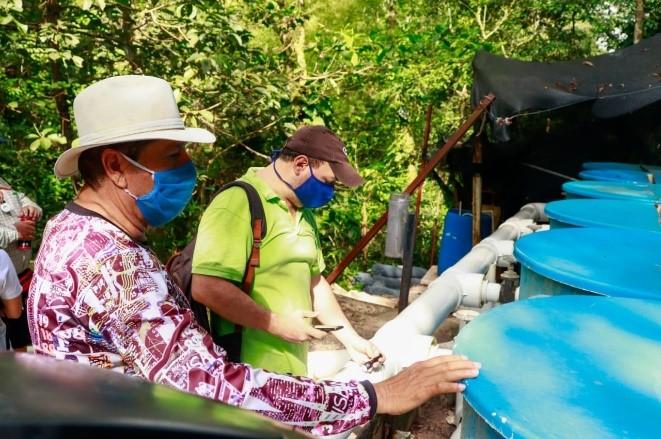 Mejoran la prestación del servicio de agua en la comuna ocho