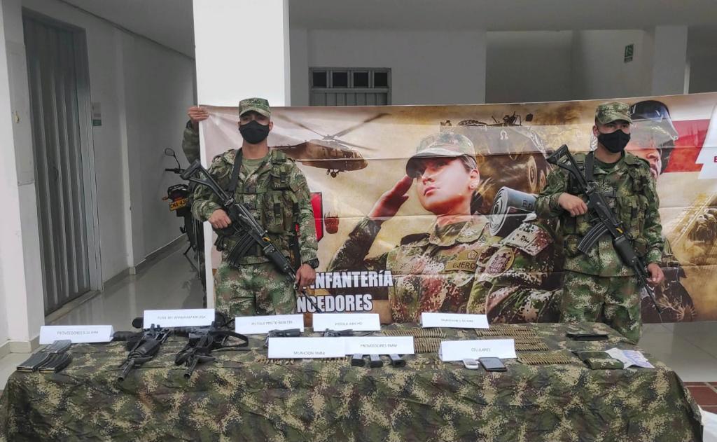Neutralizaron a tres integrantes de la GAO Clan del Golfo, en el Valle del Cauca