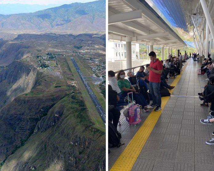 Por fallas en la pista aeropuerto Antonio Nariño Latam y Avianca cancelaron vuelos a Chachagüí