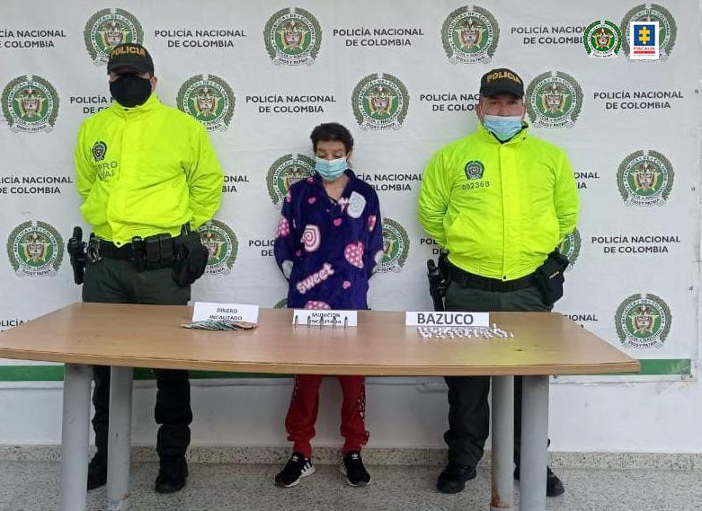Por tráfico de estupefacientes y munición judicializan a presunta implicada