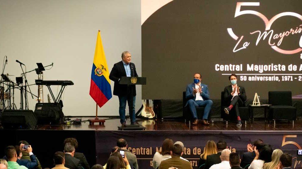 Presidente Duque anuncia documento Conpes para la modernización de las centrales mayoristas del país