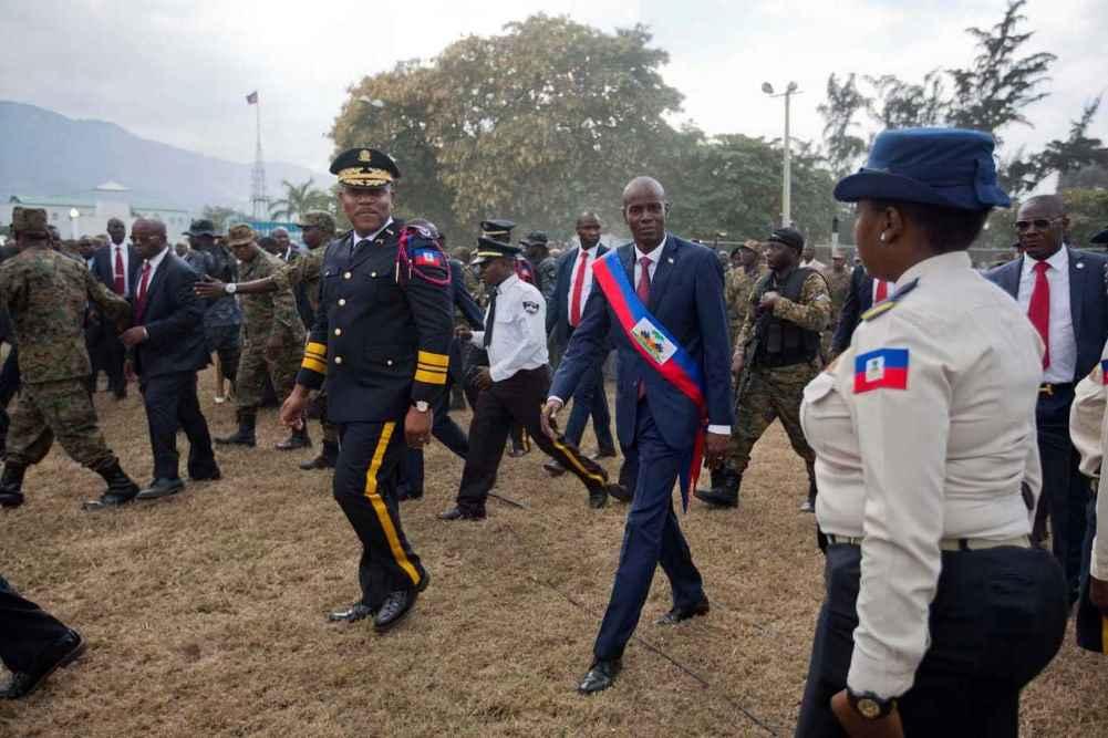 Colombianos implicados en la muerte del presidente de Haití