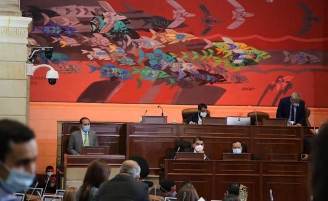 Reclamos de la oposición durante instalación de sesiones del Congreso