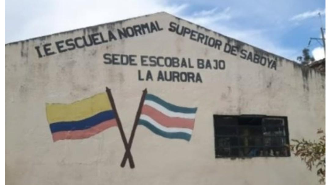 Roban escuela rural en Saboyá, Boyacá - Noticias de Colombia