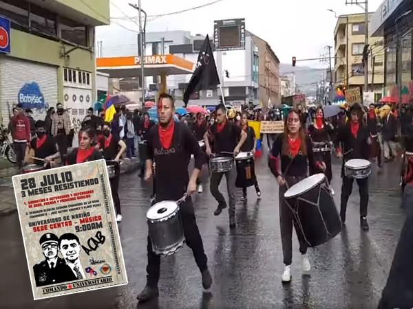Hoy se cumplen tres meses de protestas y jóvenes en Pasto saldrán nuevamente a las calles