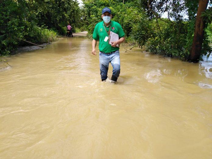 Secretaría de Agricultura, inició levantamiento de censo de cultivos afectados por el invierno.
