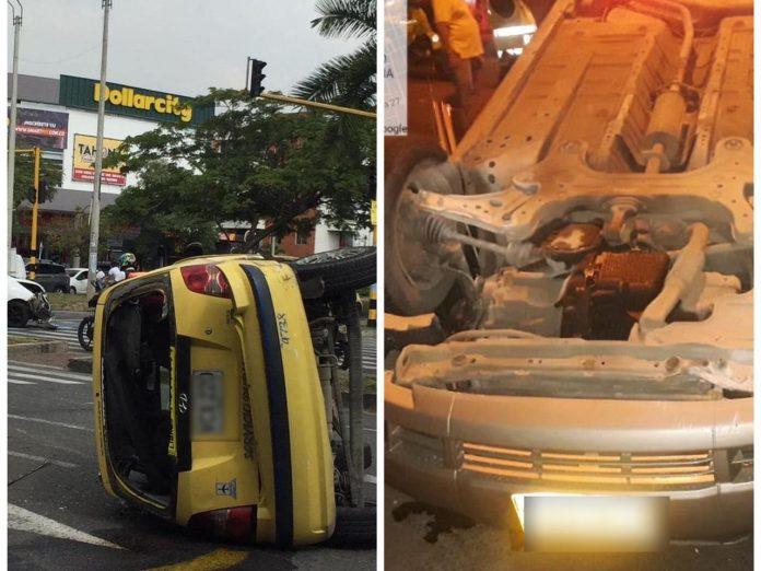 Tres accidentes y varios heridos durante este domingo en Cali