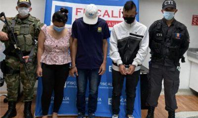 Tres personas fueron judicializadas como presuntos responsables de extorsión - Noticias de Colombia