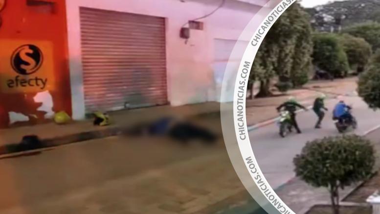 Un atracador muerto y un herido dejó robo a mano armada en Sahagún