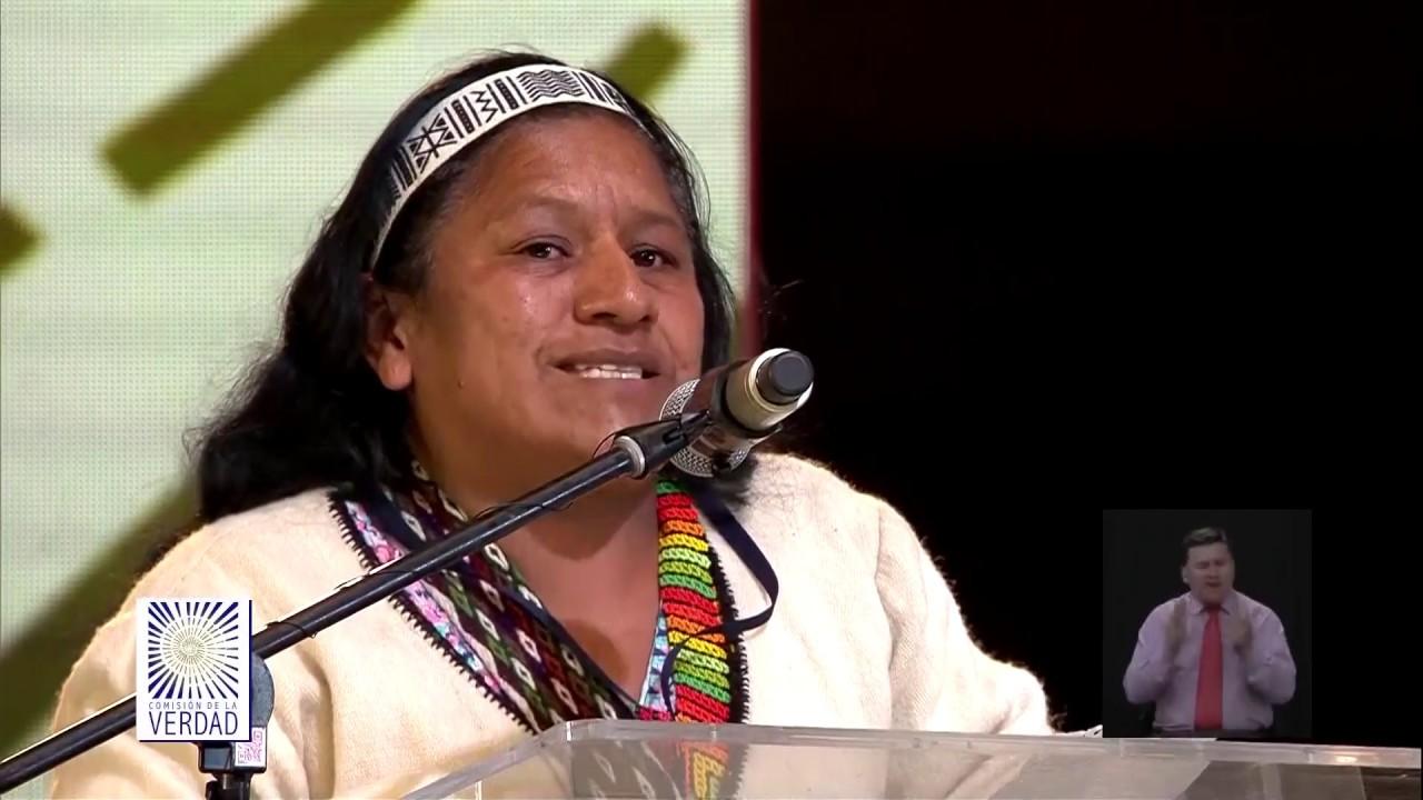 Una mujer será la candidata de los indígenas al Congreso de la Republica, Aida Quilcue una lideresa legendaria