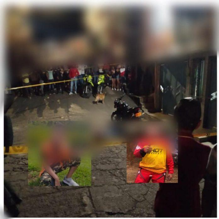 Una mujer, un adolescente y un niño asesinados, hombres armados llegaron disparando en Balboa, Cauca