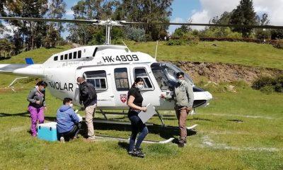 Toma vuelo el helicóptero encargado de llevar vacunas a zonas rurales en Cundinamarca   Noticias de Buenaventura, Colombia y el Mundo