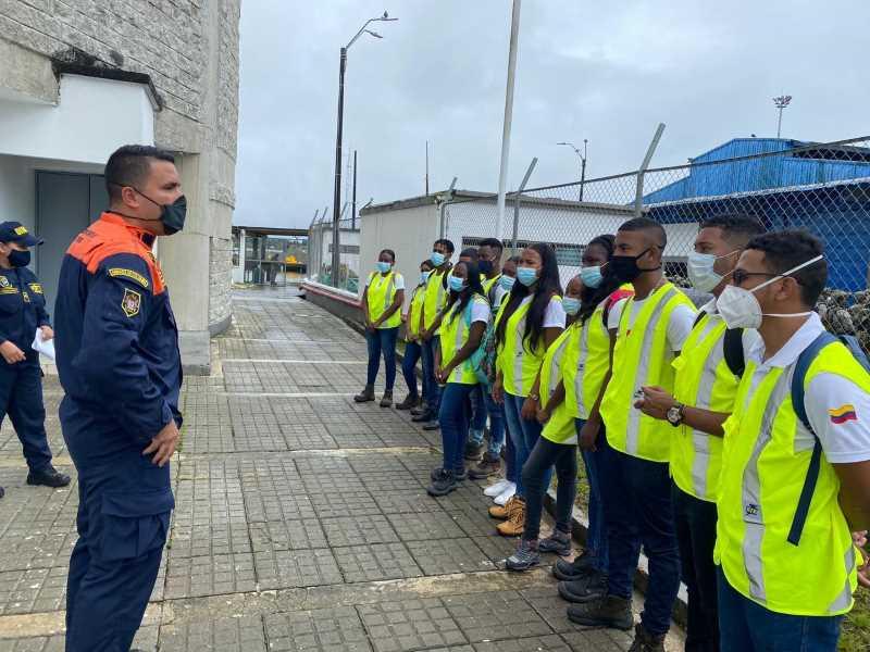Dirección General Marítima recibió la visita del Centro Náutico Pesquero del Sena Buenaventura