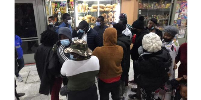 1.500 migrantes haitianos podrán continuar su tránsito hacia el interior del país - Noticias de Colombia