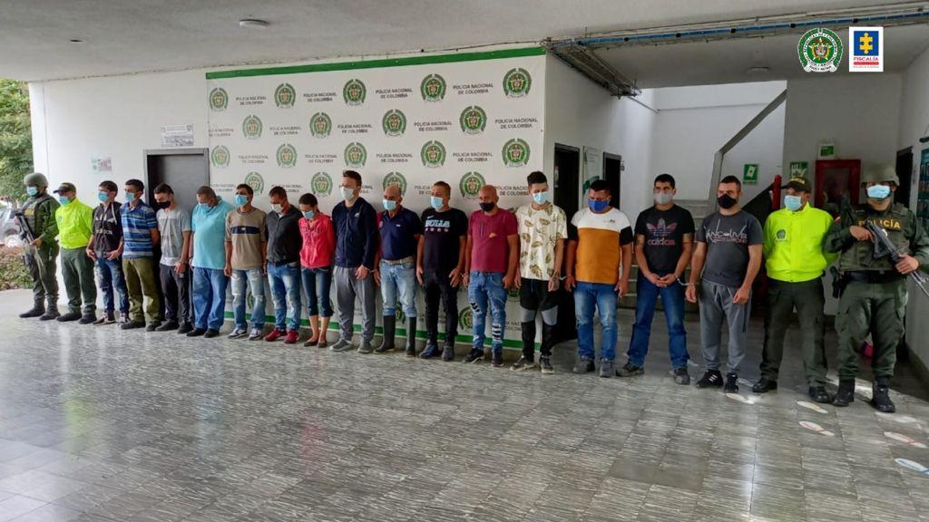 21 personas judicializadas en ofensiva investigativa contra el hurto de hidrocarburos - Noticias de Colombia