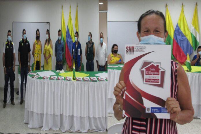 58 TITULACIONES DE PREDIOS SE ENTREGARON DE FORMA GRATUITA EN EL MUNICIPIO DE SANTA ROSALÍA - Noticias de Colombia