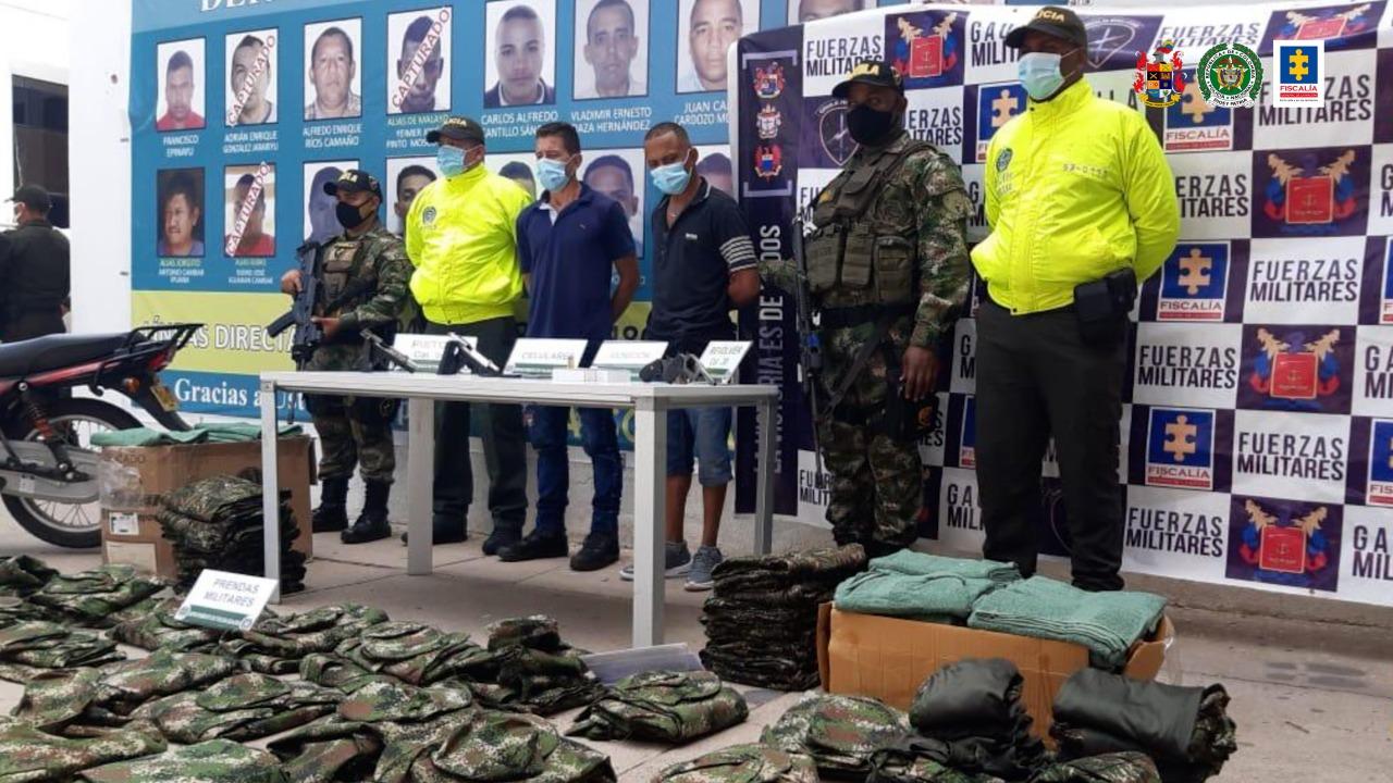 A la cárcel 2 presuntos integrantes de subestructuras del 'Clan del Golfo', dedicadas a la comisión de delitos en el departamento de La Guajira - Noticias de Colombia
