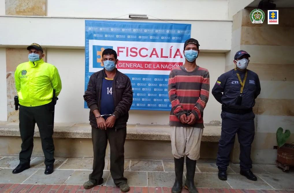 A la cárcel presuntos agresores de dos niños en zona rural de San Gil - Noticias de Colombia