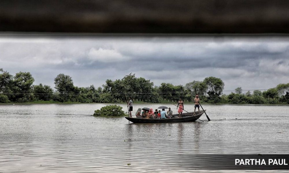 flood hit at Amta-1 in Howrah district