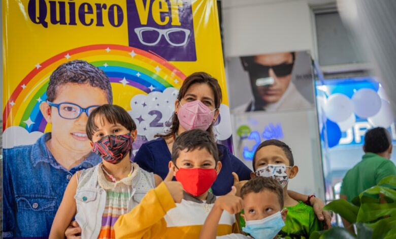 """Arrancó la campaña """"Quiero Ver"""" que beneficiará a 2 mil usuarios de 4 a 17 años de edad del régimen subsidiado de Capresoca"""