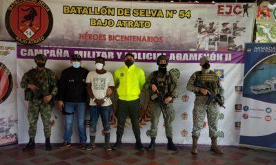 Asegurado alias Caimán, presunto integrante del Clan de Golfo que estaría implicado en el homicidio de un reincorporado en Chocó - Noticias de Colombia