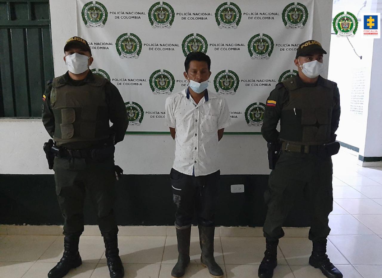 Asegurado integrante de una comunidad indígena por tentativa de extorsión - Noticias de Colombia