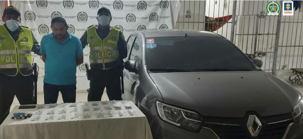 Cae hombre en Valledupar que al parecer hurtó bajo la modalidad de 'cambiazo' una tarjeta débito - Noticias de Colombia